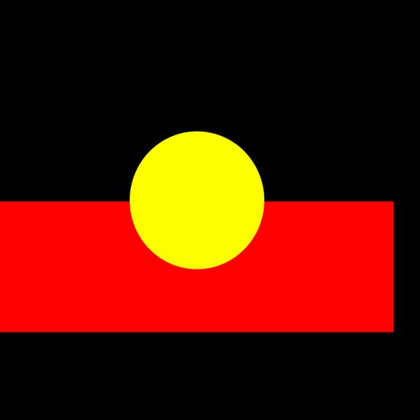 Australian Aboriginal Flag PNG Clip art
