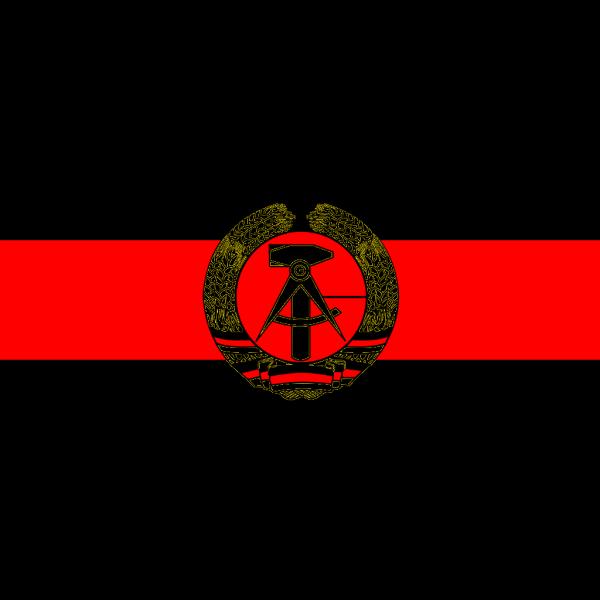 East Germany Flag PNG Clip art