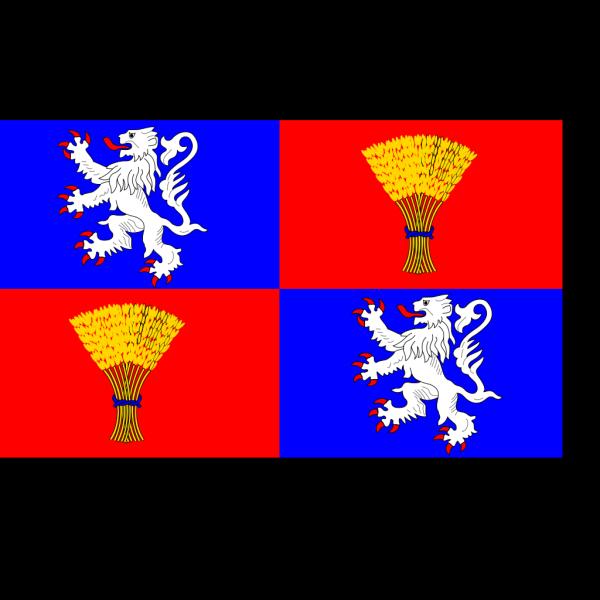 Flag Of Gascogne PNG Clip art