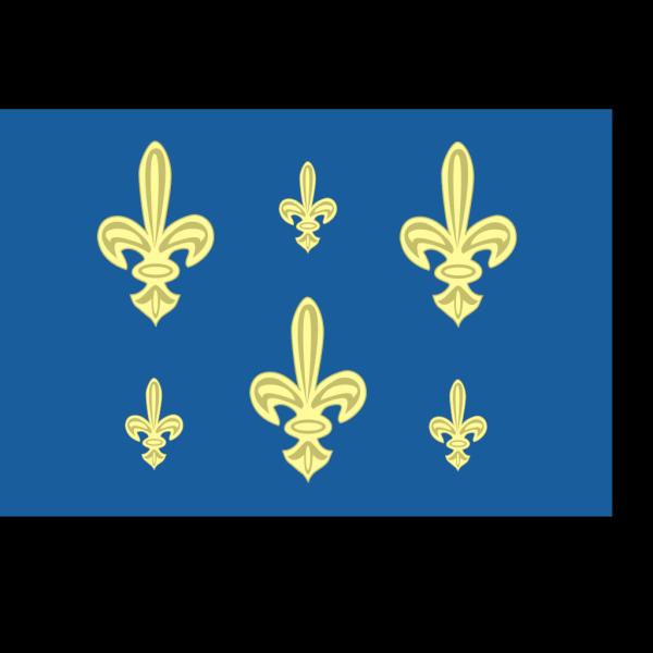 Historic French Royal Navy Flag PNG Clip art
