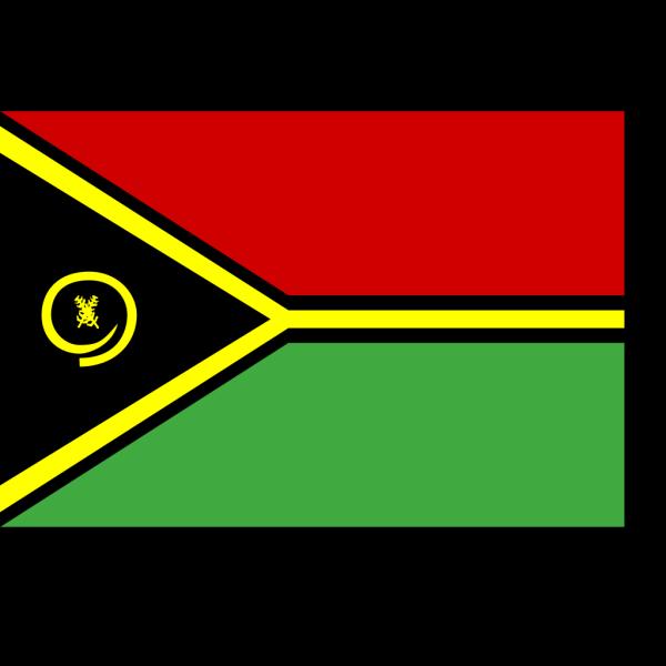 Flag Of Vanuatu PNG Clip art