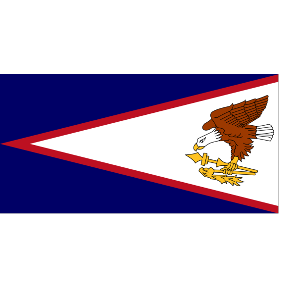 Flag Of American Samoa PNG Clip art