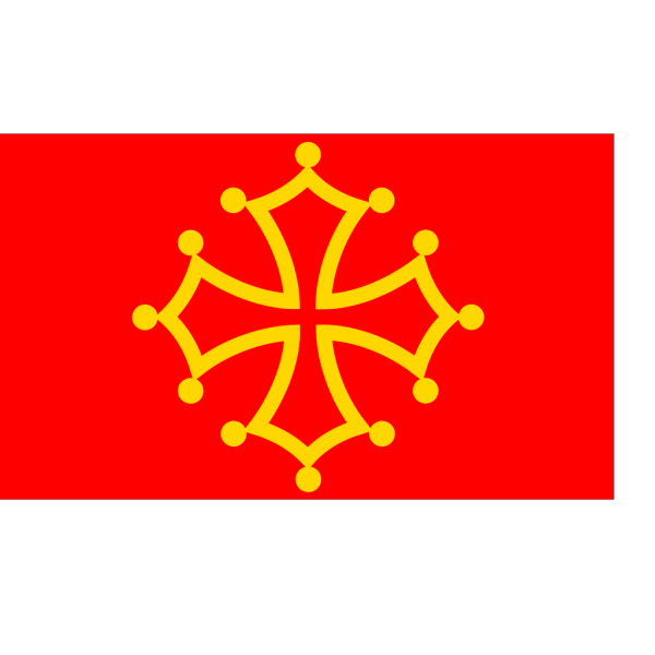 Flag Of Midi Pyrenees PNG Clip art