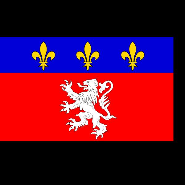Flag Of Lyonnais PNG Clip art