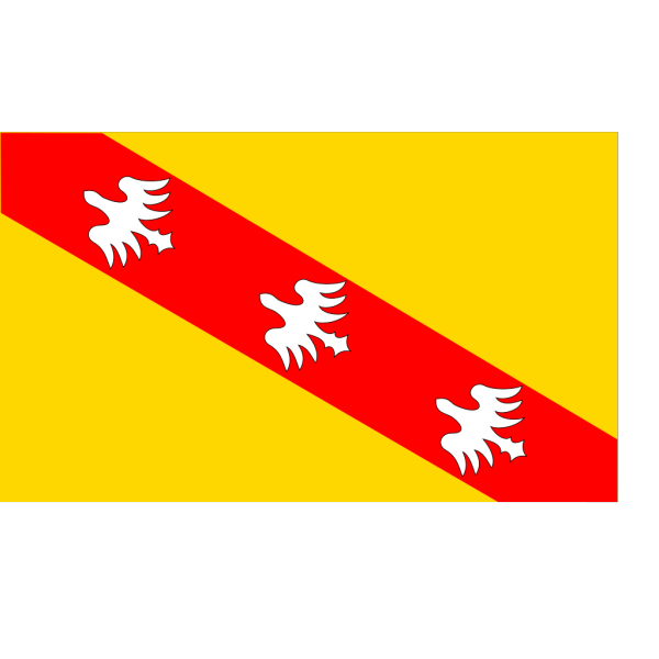 Flag Of Lorraine PNG images