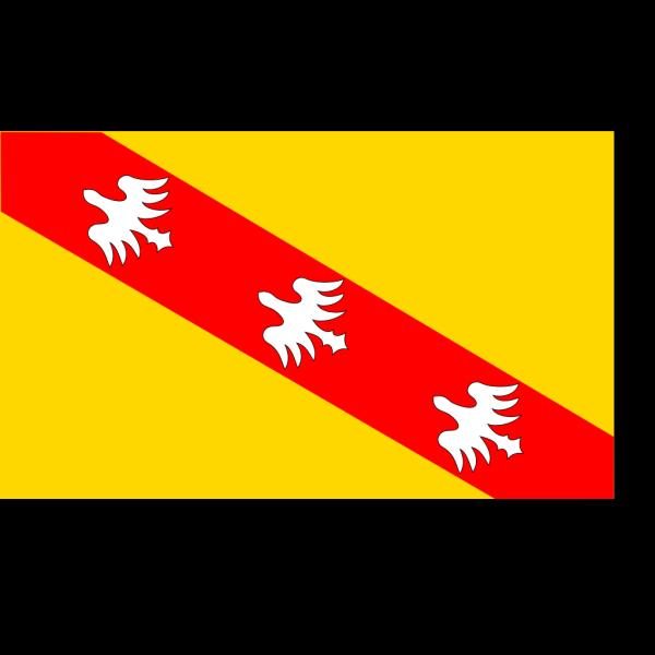 Flag Of Lorraine PNG Clip art