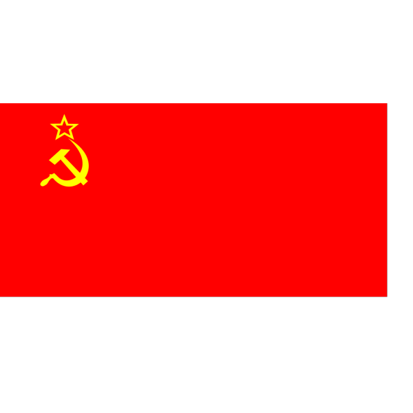 Flag Of The Ussr PNG Clip art