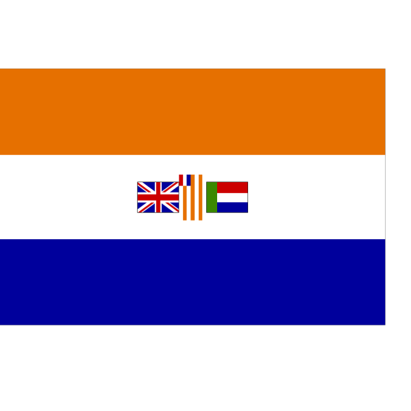 Historic Flag Of South Africa PNG Clip art