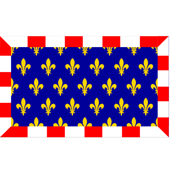 Flag Of Touraine PNG Clip art