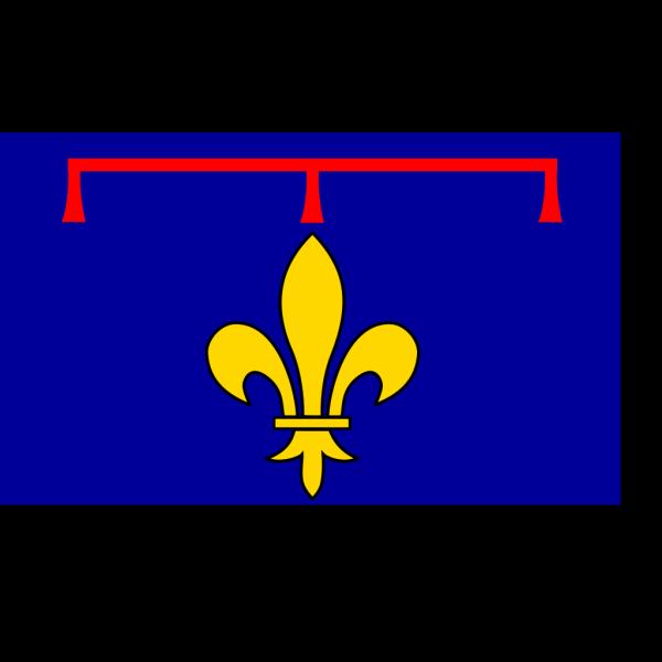Alternate Flag Of Provence PNG Clip art