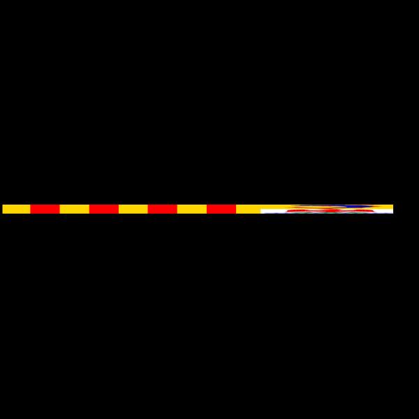 Flag Of Provence Alpes Cote Dazur PNG Clip art