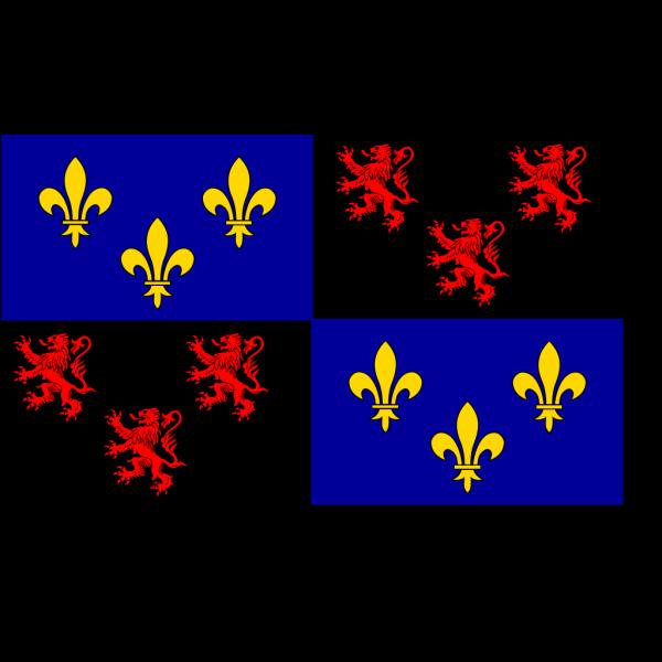 Flag Of Picardie PNG Clip art