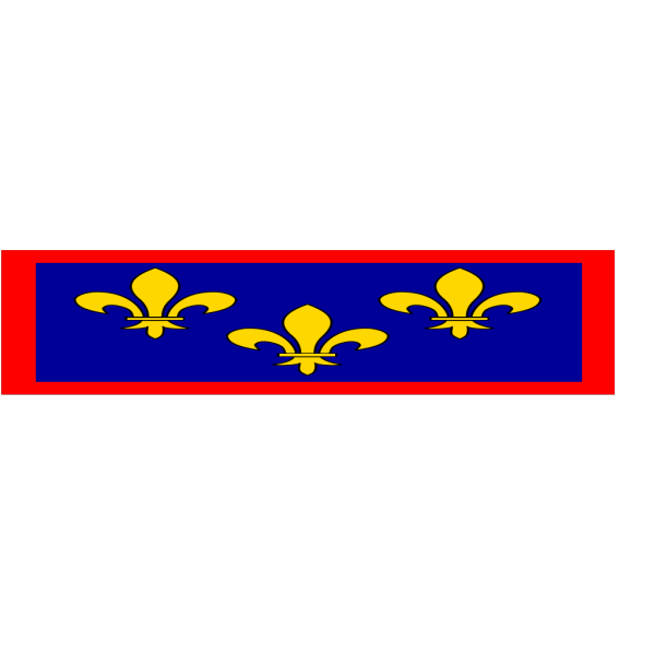 Flag Of Anjou PNG Clip art