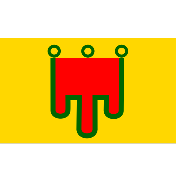 Flag Of Auvergne PNG Clip art