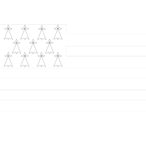 Flag Of Brittany PNG Clip art