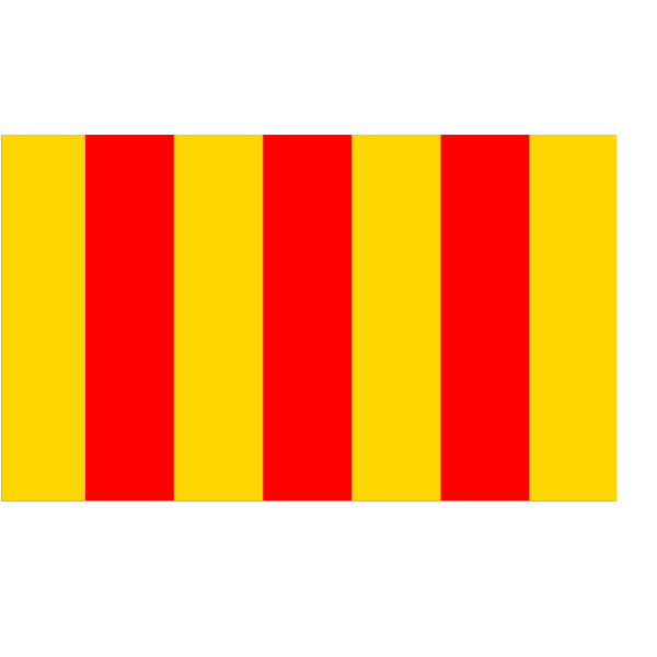 Flag Of The County Of Foix PNG Clip art