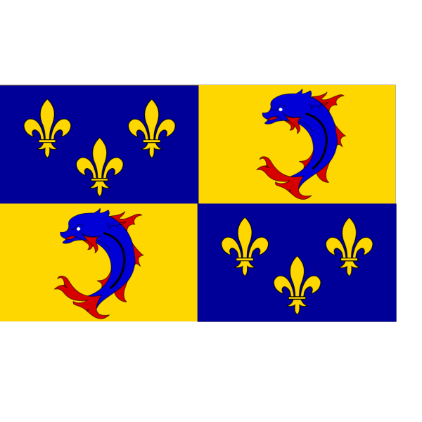 Flag Of Dauphine PNG Clip art