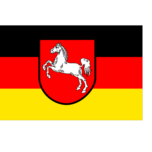 Flag Of Lower Saxony PNG Clip art