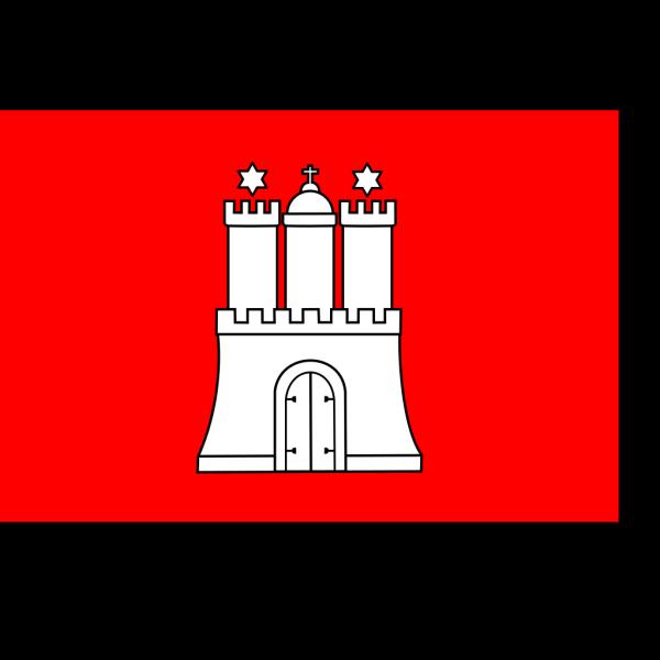 Flag Of Hamburg PNG Clip art