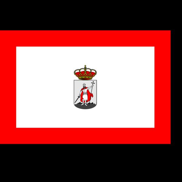 Flag Of Gijon PNG Clip art