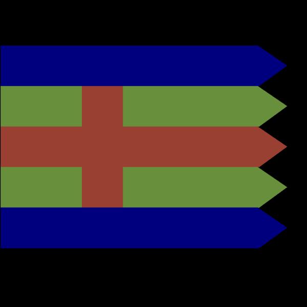 Flag Of Jutland PNG Clip art