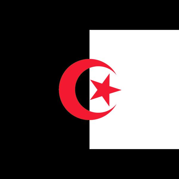 Flag Of Algeria PNG Clip art