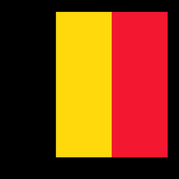 Flag Of Belgium PNG Clip art