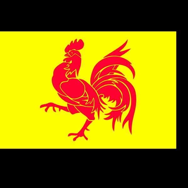 Flag Of Wallonia PNG Clip art