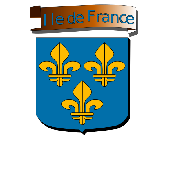Ile De France Coat Of Arms PNG Clip art