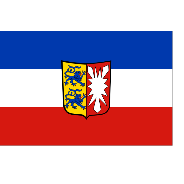 Flag And Coat Of Arms Of Schleswig Holstein PNG Clip art
