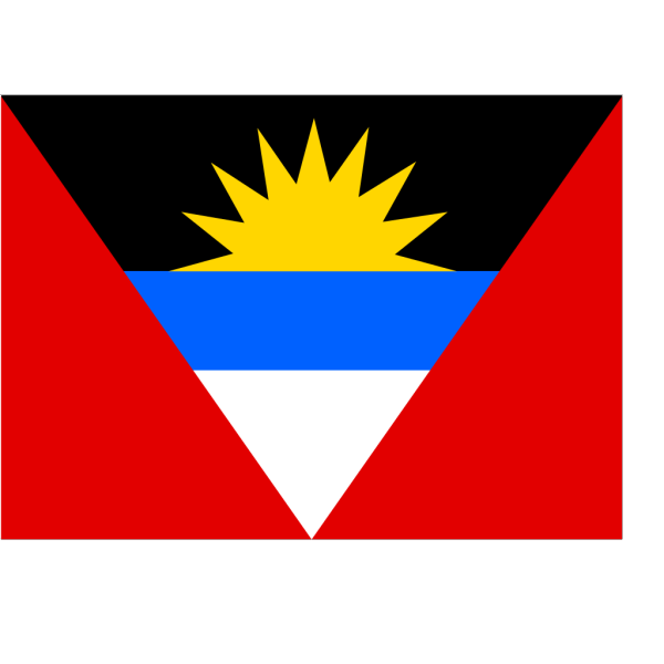 Flag Of Antigua And Barbuda PNG Clip art