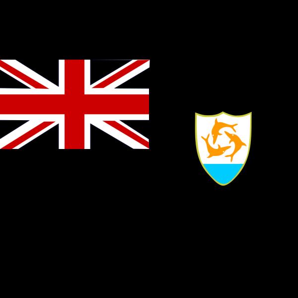 Flag Of Anguilla PNG Clip art