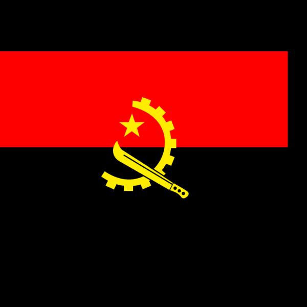 Flag Of Angola PNG Clip art