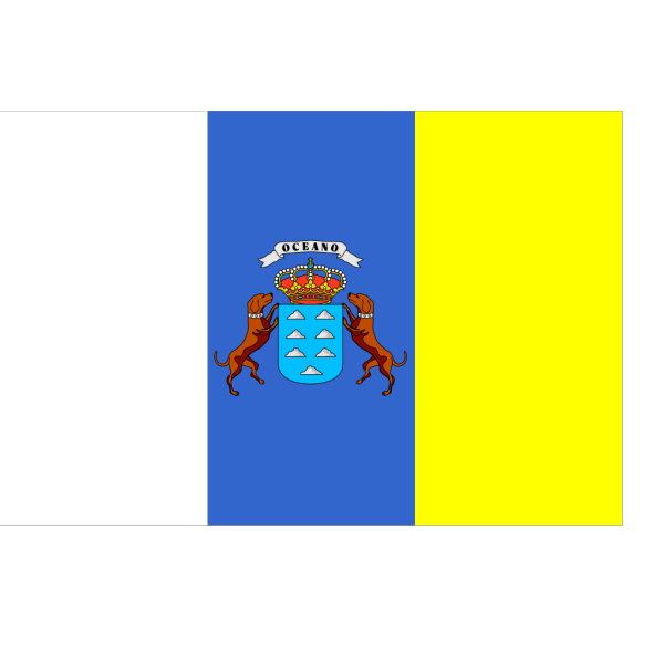 Flag Of The Canary Islands PNG images