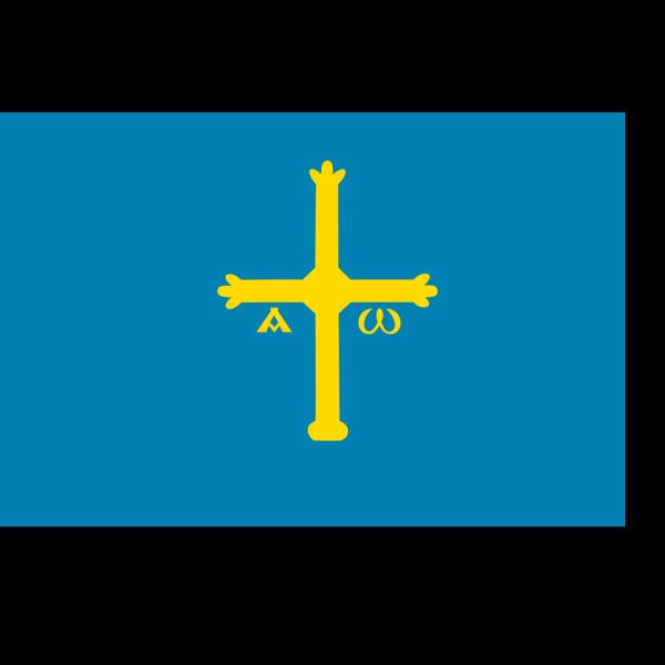 Flag Of Asturias PNG Clip art