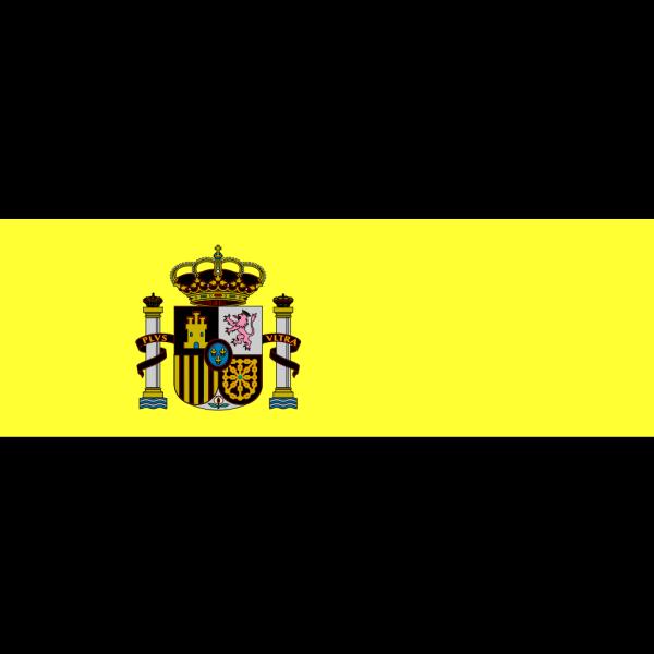 Flag Of Spain PNG Clip art