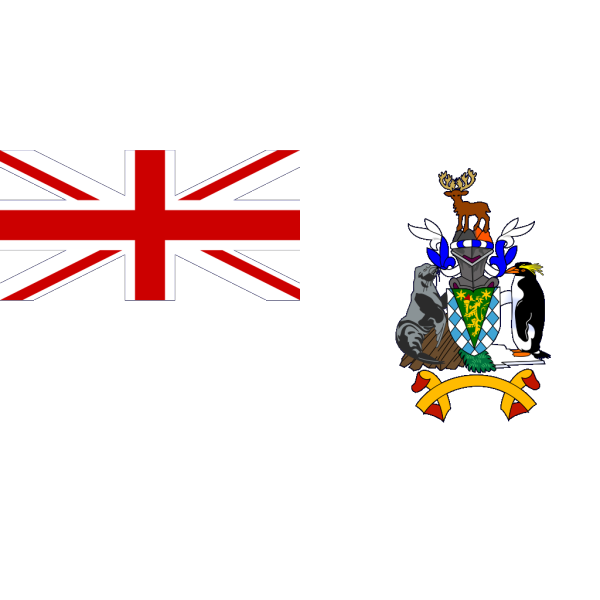 Flag Of South Georgia And South Sandwich Islands PNG Clip art