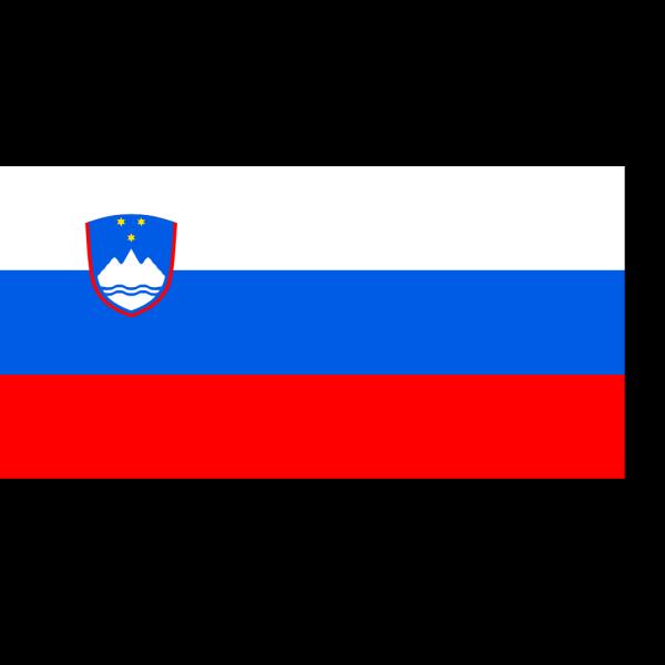 Flag Of Slovenia PNG Clip art