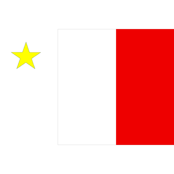 Flag Of Acadia PNG clipart