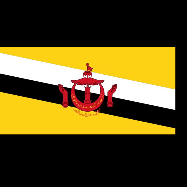 Flag Of Brunei PNG Clip art
