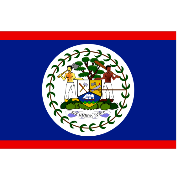 Flag Of Belize PNG Clip art