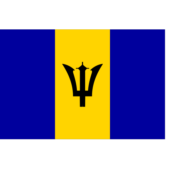 Flag Of Barbados PNG Clip art