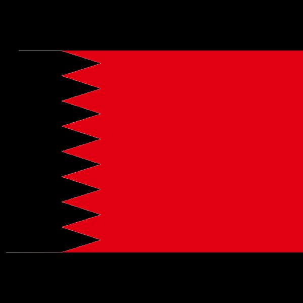 Flag Of Bahrain PNG Clip art