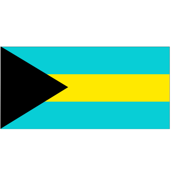 Flag Of The Bahamas PNG Clip art