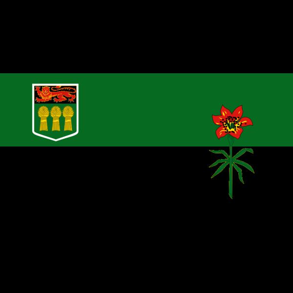 Flag Of Saskatchewan PNG Clip art