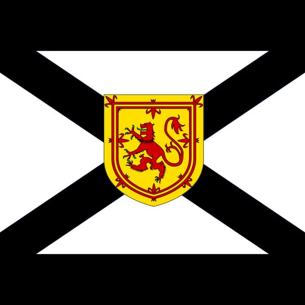 Flag Of Nova Scotia PNG Clip art