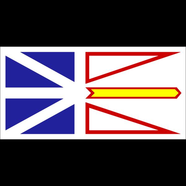 Flag Of Newfoundland And Labrador PNG Clip art