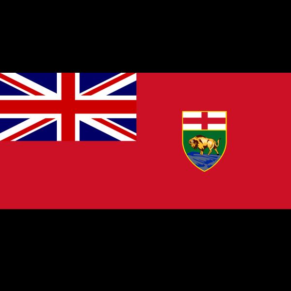 Flag Of Manitoba PNG Clip art