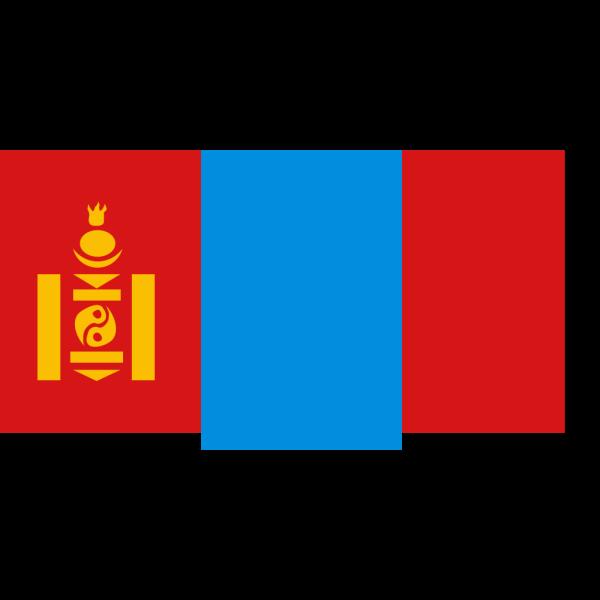 Flag Of Mongolia PNG Clip art