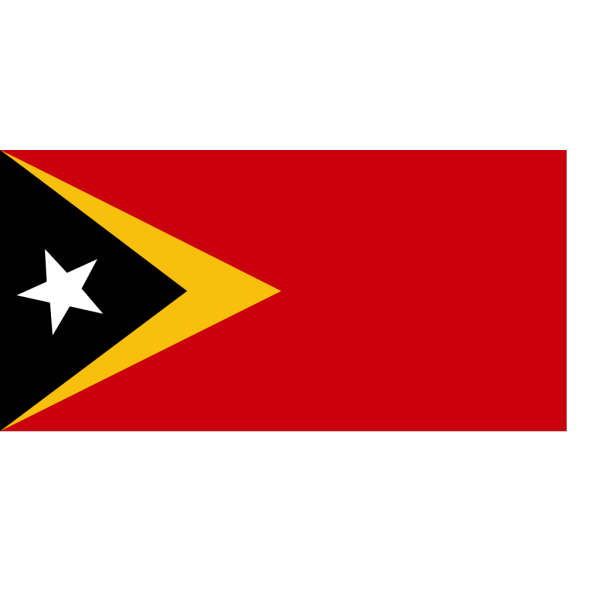 Flag Of East Timor PNG Clip art